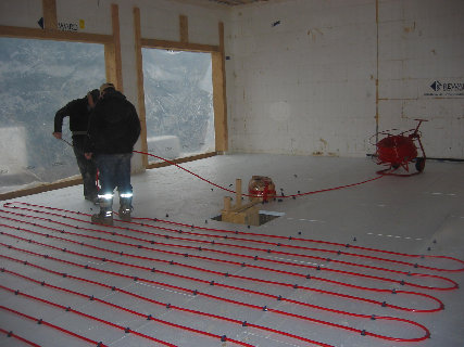 Radiant floor heating insulation gurus floor for Icf concrete floors